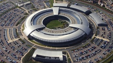 Aerial shot of GCHQ's building