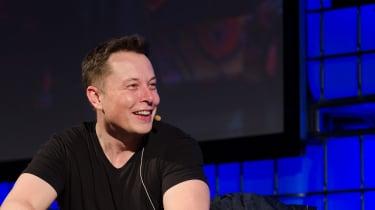 Elon Musk talking
