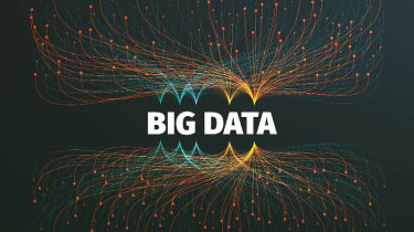 The words Big Data displayed over an interesting graphical design