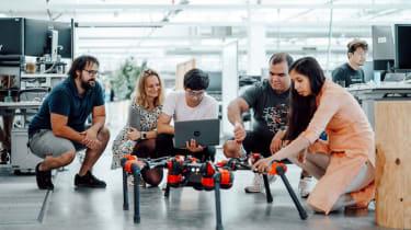 Facebook's six legged robot