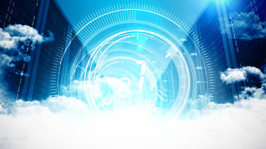 Data centre and servers in the cloud with a technology overlay