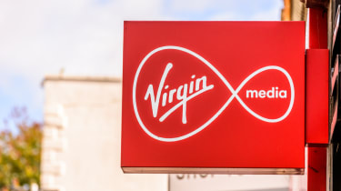 Virgin media sign