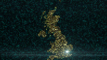 data map of UK