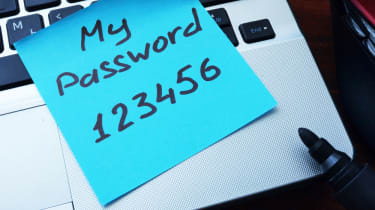 password on posit note