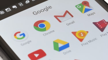 Google Apps on phone