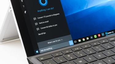 Cortana on Laptop