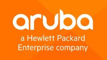 Aruba logo on a white background