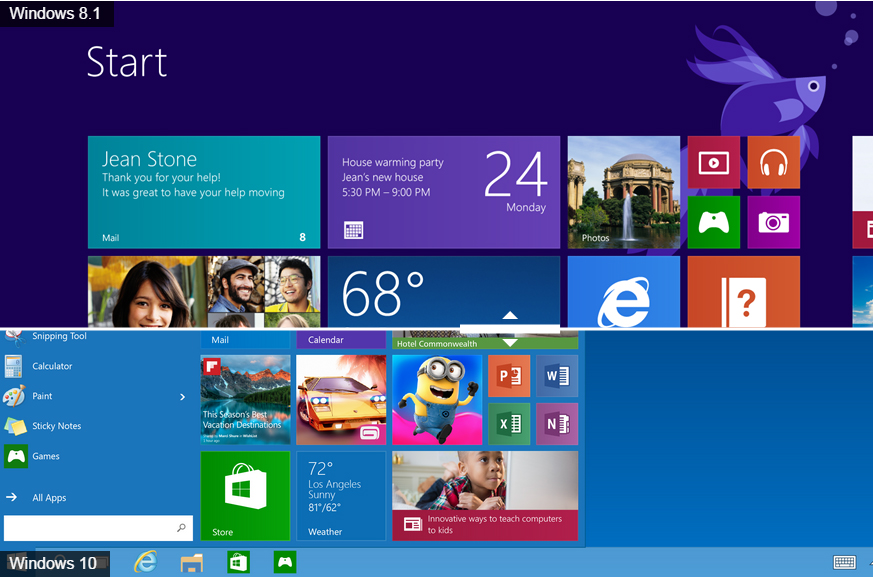 Windows 10 Vs Windows 8 1 Which Is Best For You It Pro